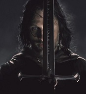 9. Aragorn and Anduril