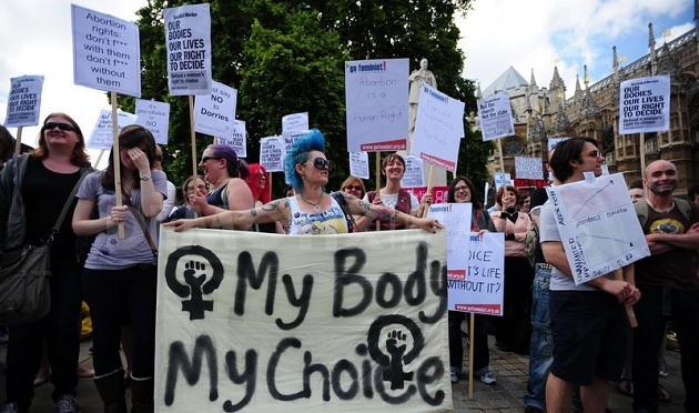 Pro Choice Protests