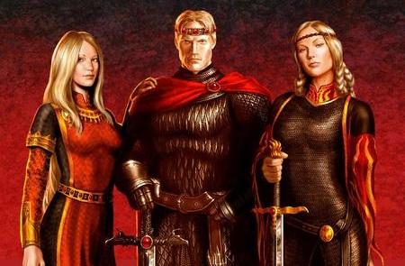 Rhaenys, Aegon, & Visenya